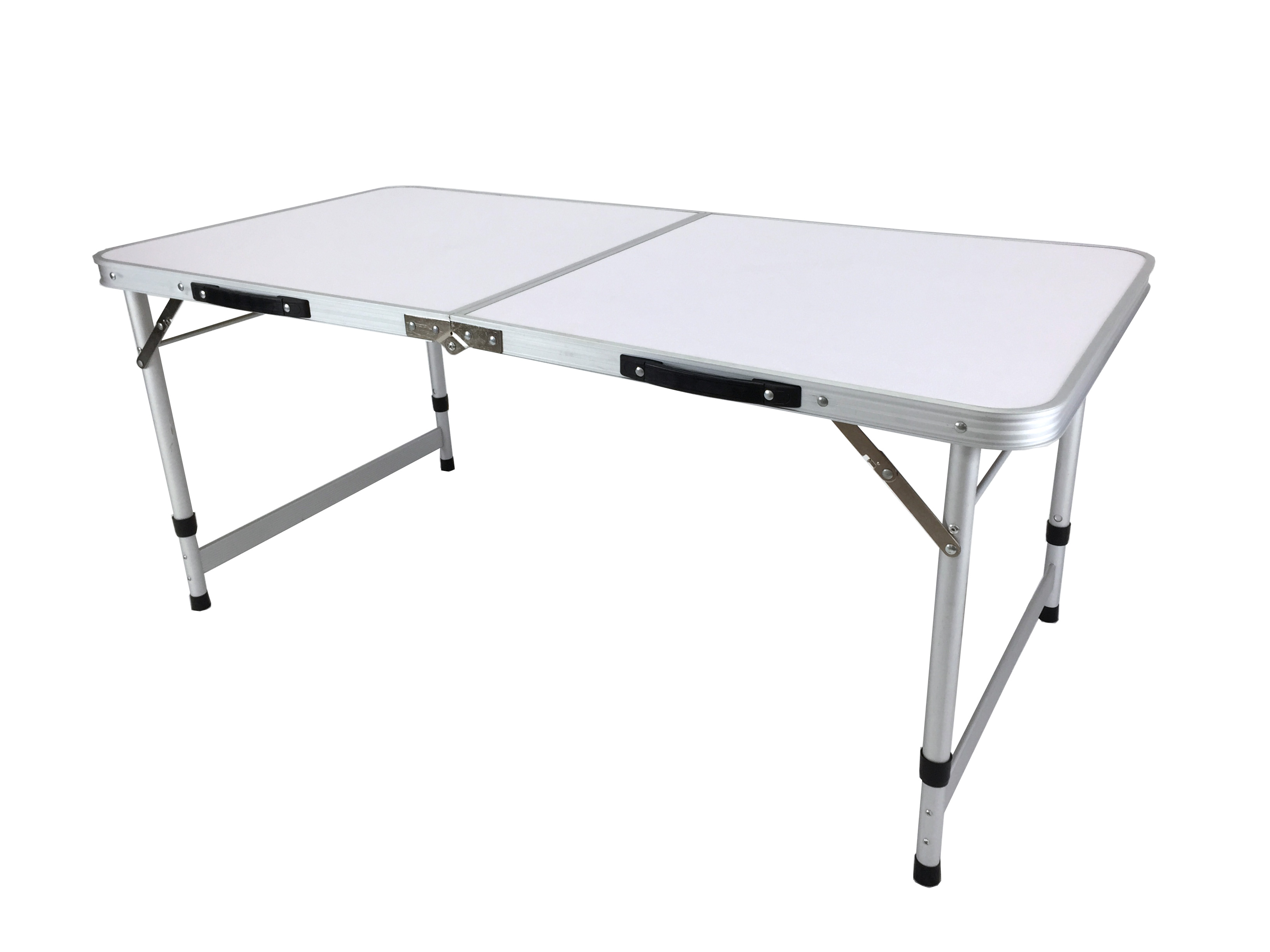 Aluminum Camping Folding Camp Table With Carrying Handle 4 Ft