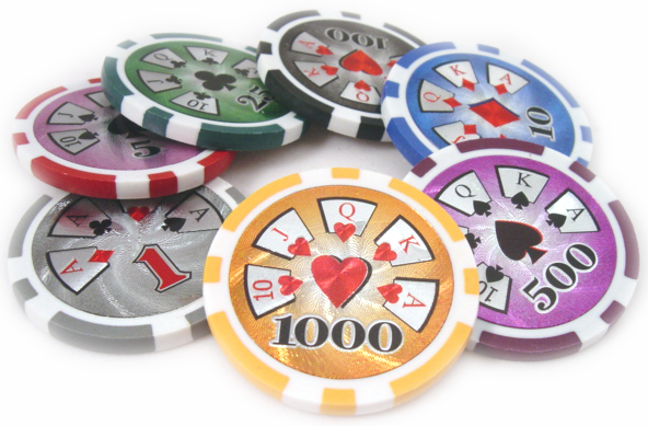real casino poker chips