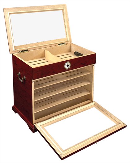 Large Capacity Cabinet Cigar Humidor - Table Display - 400ct  sc 1 st  Easy Source Inc. & Large Capacity Cabinet Cigar Humidor