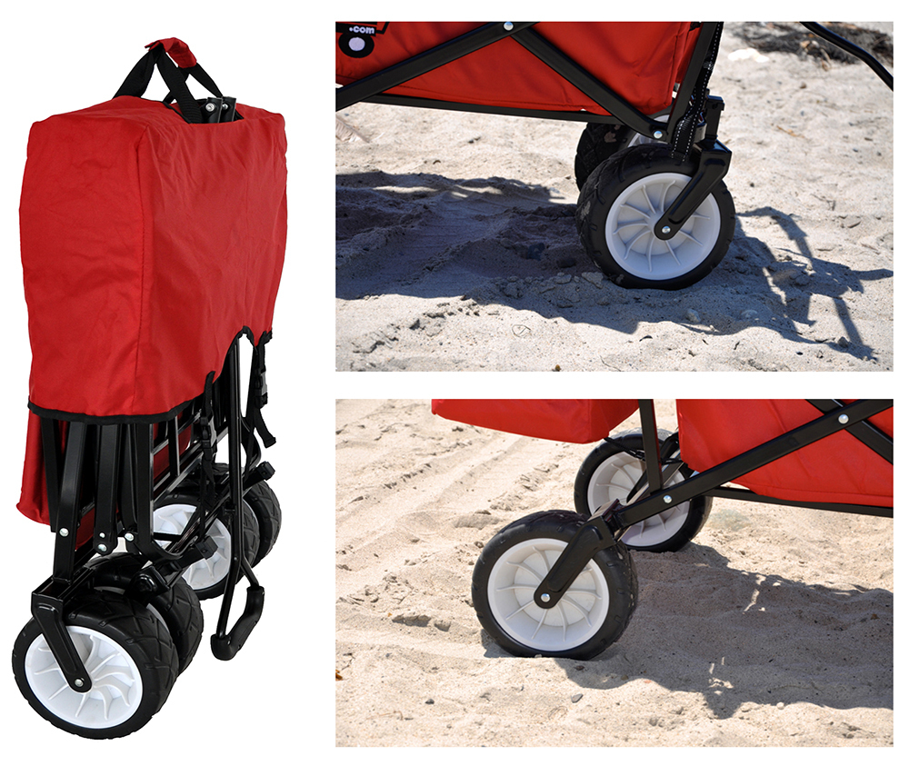 Folding Wagon Beach Outdoor Cart