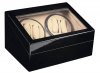 4+6 Blackwood Quad Watch Winder Box AC/DC