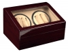 4+6 Redwood Quad Watch Winder Box AC/DC
