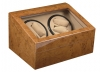 4+6 Walnut Quad Watch Winder Box AC/DC