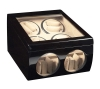 8+4 Blackwood Dual Quad Watch Winder Box AC/DC