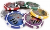 500 14g Dollar High Roller Casino Poker Chips Set Model BIG NUMBER