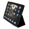 APPLE iPad 2 MAGNETIC SMART LEATHER CASE COVER W/ STAND FOR 3G WIFI - BLACK