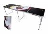"Beer Pong Aluminum Folding Table W/ Handle 8"" BP-06"