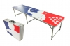 "Beer Pong Aluminum Folding Table W/ Handle 8"" BP-07"