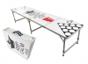 "Beer Pong Aluminum Folding Table W/ Handle 8"" BP-09"