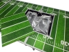 8' ALUMINUM BEER PONG TABLE ICE BAG COOLER FOLDING TAILGATE DRINKING GAME #2