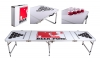 8 FOOT PROFESSIONAL BEER PONG TABLE - ALUMINUM PARTY GAMES CUP HOLES #4