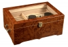Luxry Cigar Humidor with Display - 150 Count Capacity