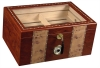 Clear Top Cigar Humidor w / Lock- 100ct