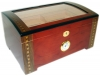 Luxury Cigar Humidor w/ Display Lid - 200ct