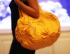 LADIES FASHION HAND BAG - TOTE FLOWER YELLOW