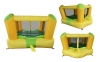 Big Yellow Funny Jumping Bounce House