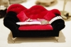 Mini Sofa Dresser and Pendant Ring Display - Pink