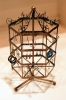 EARRING JEWELRY DISPLAY ROTATING HOLDER STAND RACK - COPPER C02