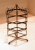 EARRING JEWELRY DISPLAY ROTATING HOLDER STAND RACK  COPPER C01