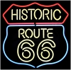 NEON LIGHT HISTORIC ROUTE 66 MOTHER ROAD BEER BAR SIGN