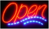 OPEN LED SIGN WITH MOTION WITH 2 -COLOR