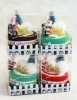 Christmas Towels 4 Piece Gift  Set - Merry Christmas Tree and Santa Presents with 8 Towels!
